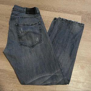 Armani exchange straight leg jeans size 32